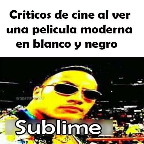 Momento cinefilo - meme