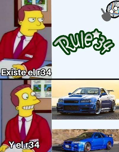 Prefiero al otro R34, es mas decente :son: - meme