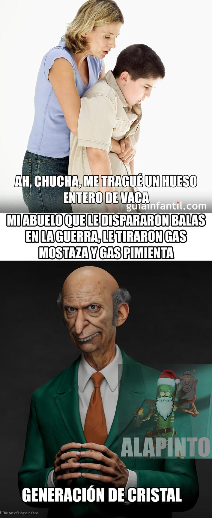 TREMENDA GENERACIÓN DE CRISTAL - meme