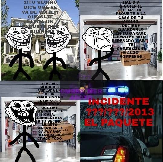 el paquete - meme