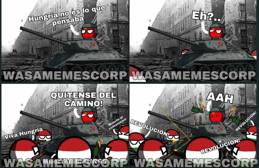 REVOLUCIÓN Hungara - meme