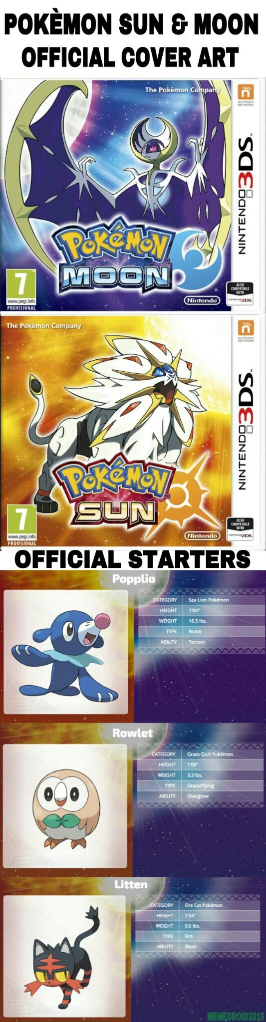 For the Pokèmon fans on Memedroid that might have missed it