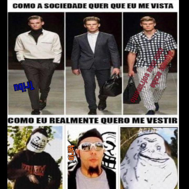 MEMES TIPOS DE CARINHAS SÃO