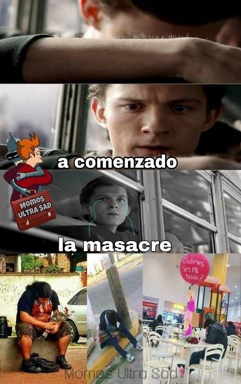 La masacre de este año - meme