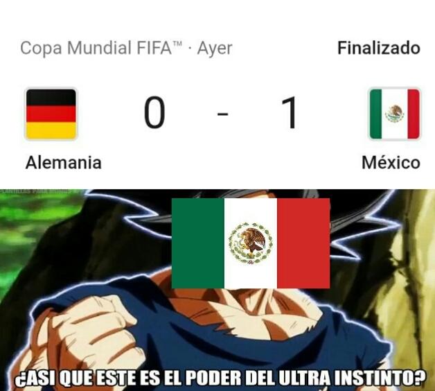 Migatte no México - meme