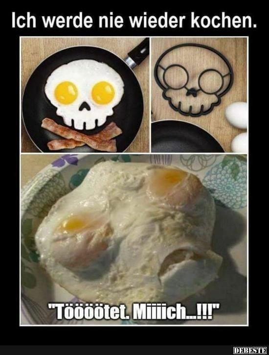 Warum ich nicht koche - meme