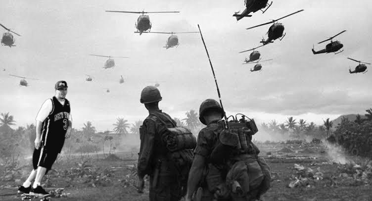 Arma mais perigosa da guerra do vietnam - meme