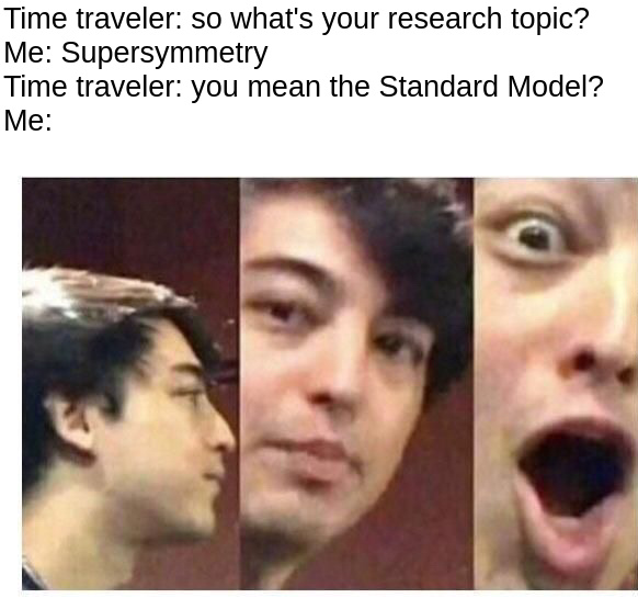 Standard Model Gang what up - meme