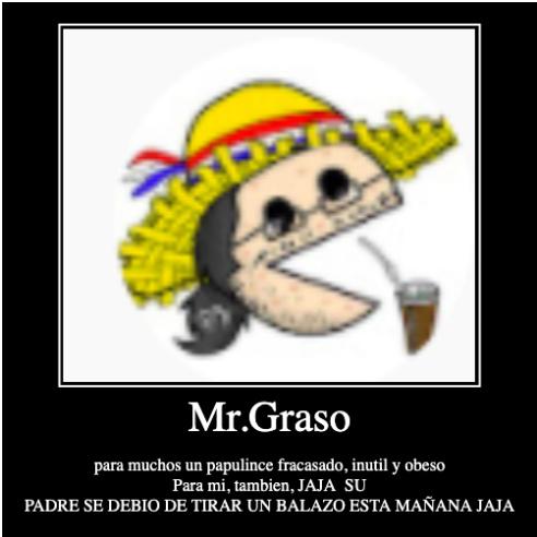 Mr.Graso cuando ve una pija sin chupar: *PERSONA CORRIENDO RAPIDAMENTE* - meme