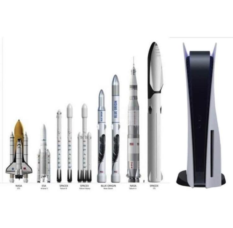 El nuevo cohete de la NASA! - meme