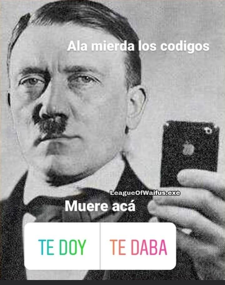 De una - meme