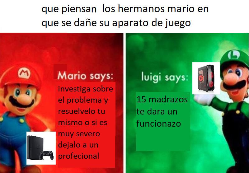 jugadores de consolas vs jugadores de pc - meme