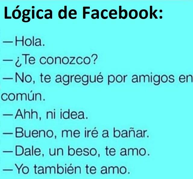 """Las """"amistades"""" de facebook - meme"""