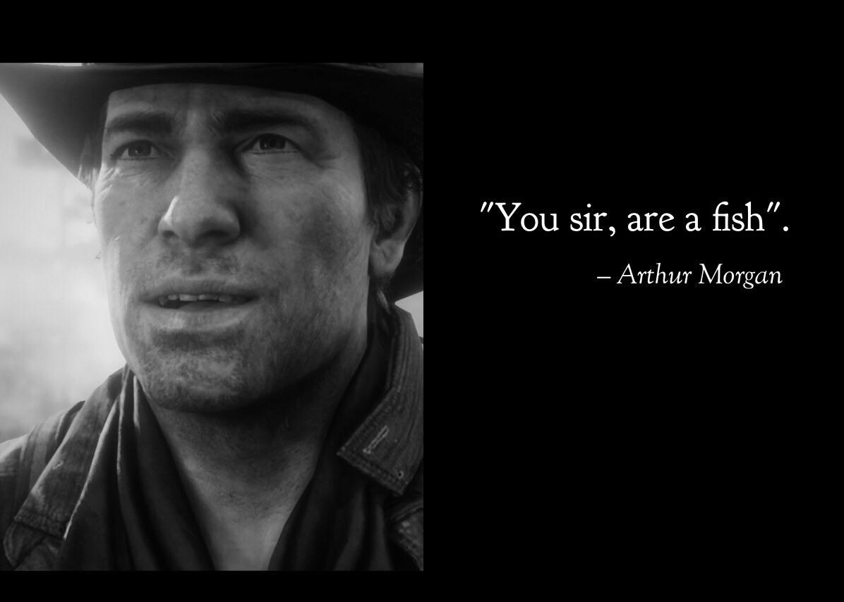 R.I.P Arthur Morgan - meme