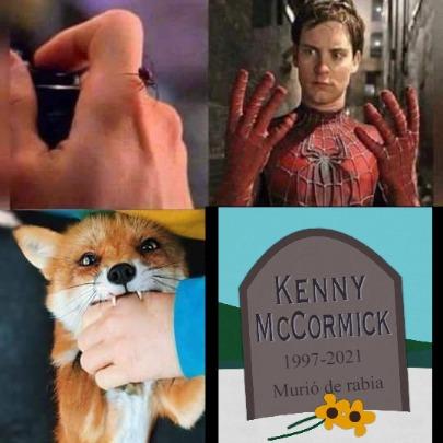Dios mio! Kenny murió de rabia! Hijos de put4! - meme