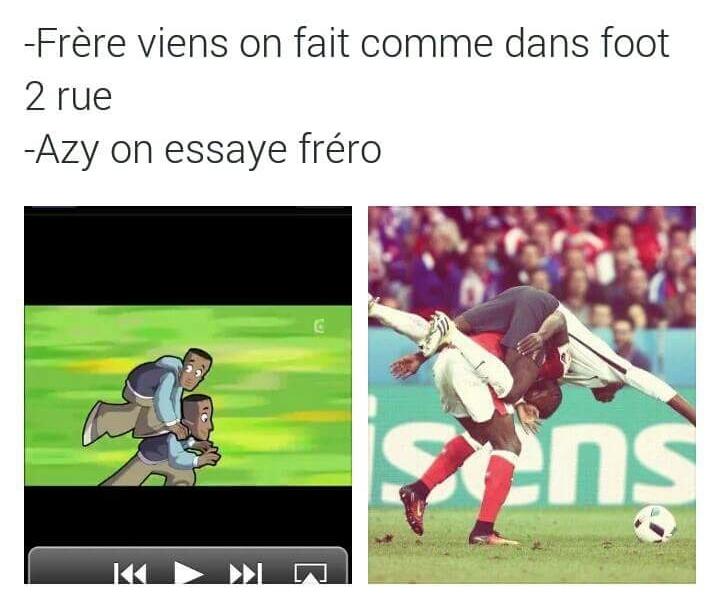 Foot de Rue - meme