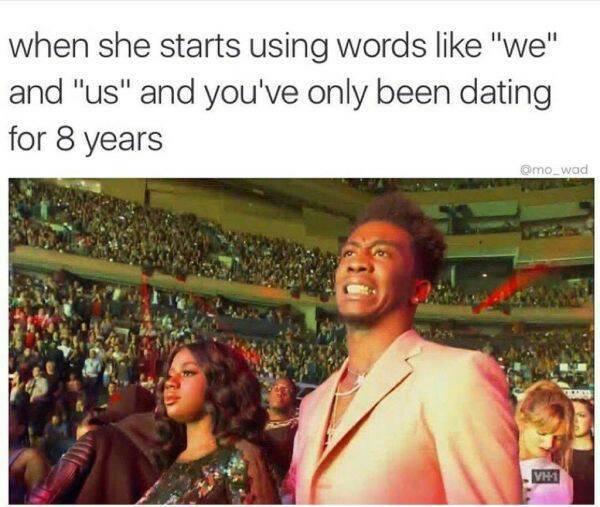Hahaha... 8 fucking years! - meme