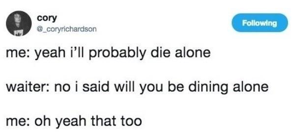 Dining - meme