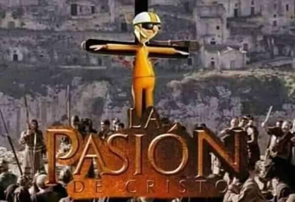 La Pasión de Cristo - meme