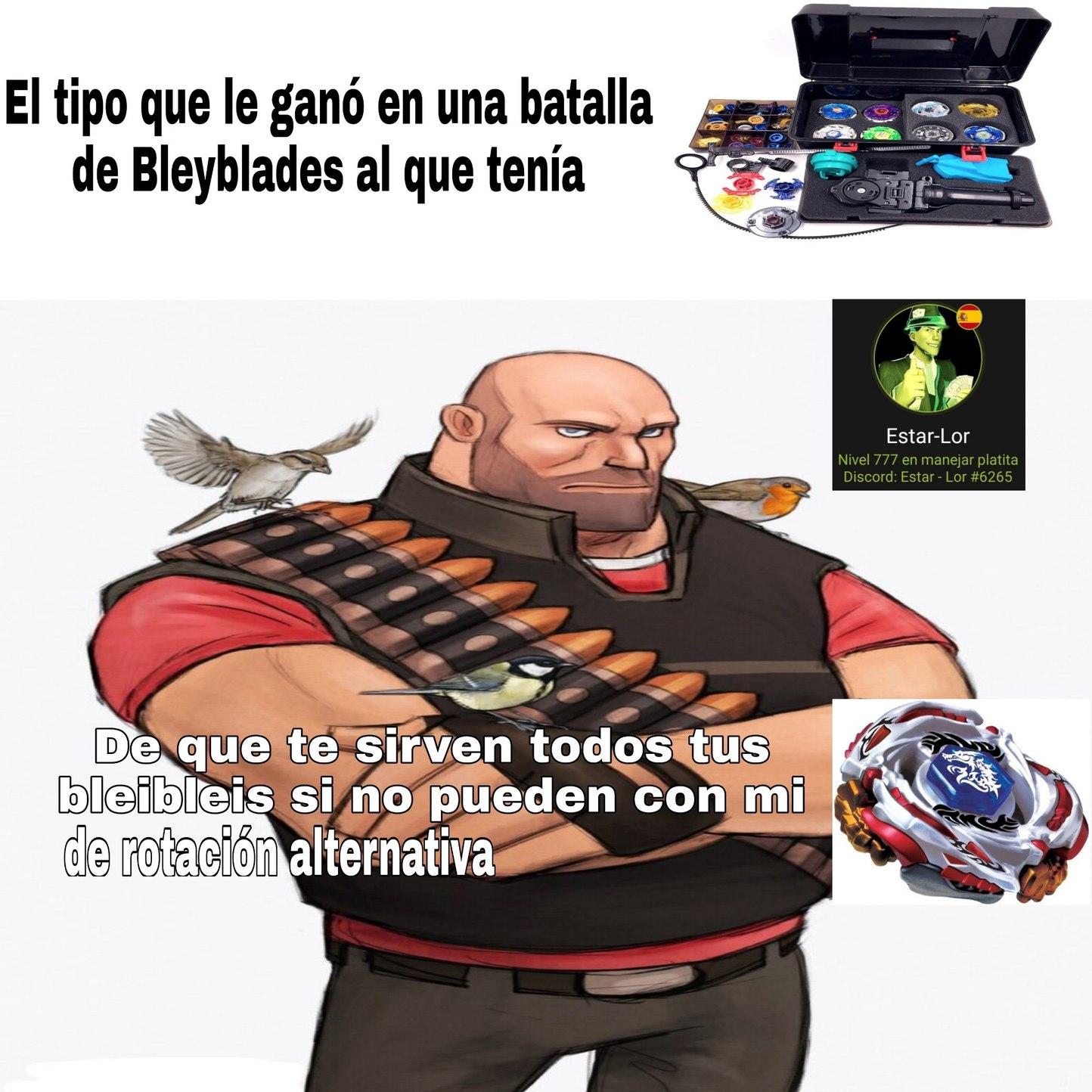 Bleyblade Bleyblade let it rip! - meme