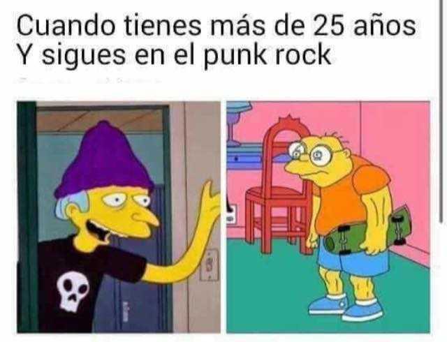 Ponk hasta la muerte - meme