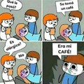 Alergia a mi café