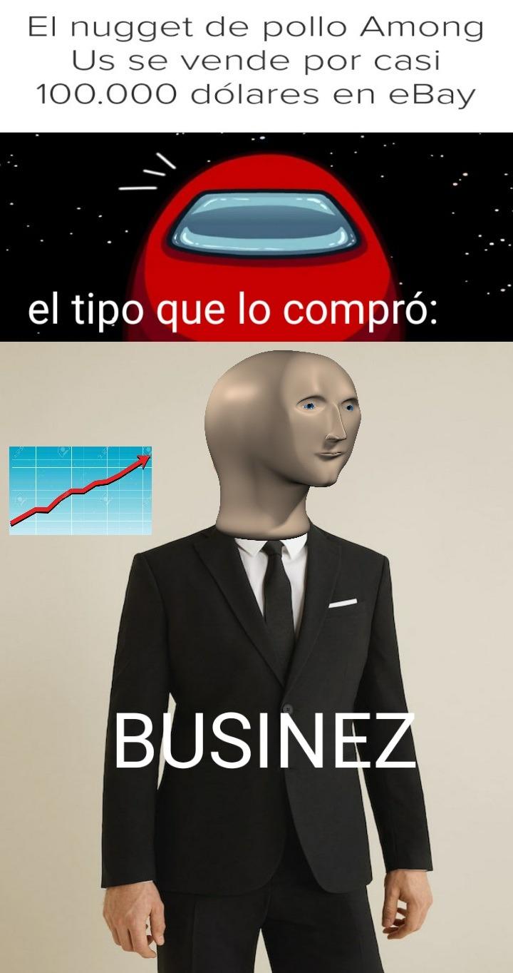 The mazter of businez - meme