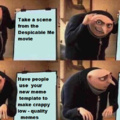 crappy low - quality meme