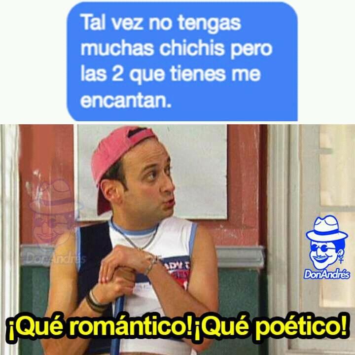 Uf que romántico - meme