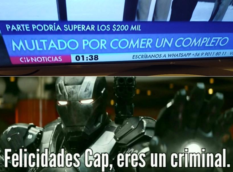 Chile :7 - meme