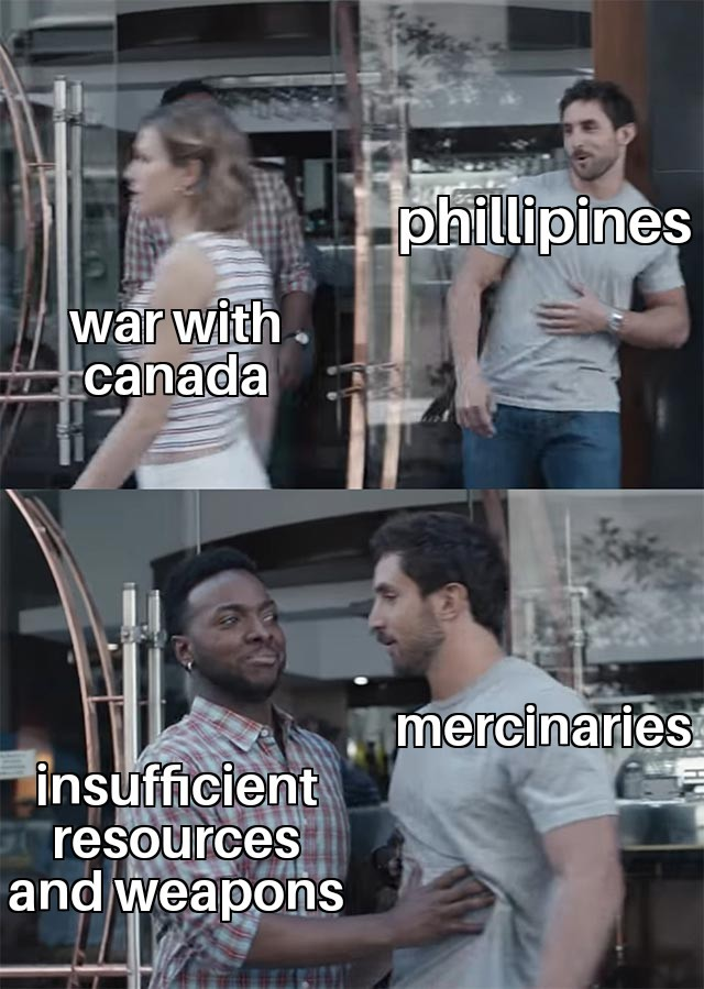 Cant afford to travel to canada - meme