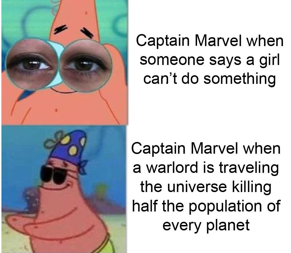 Capton Marbel - meme