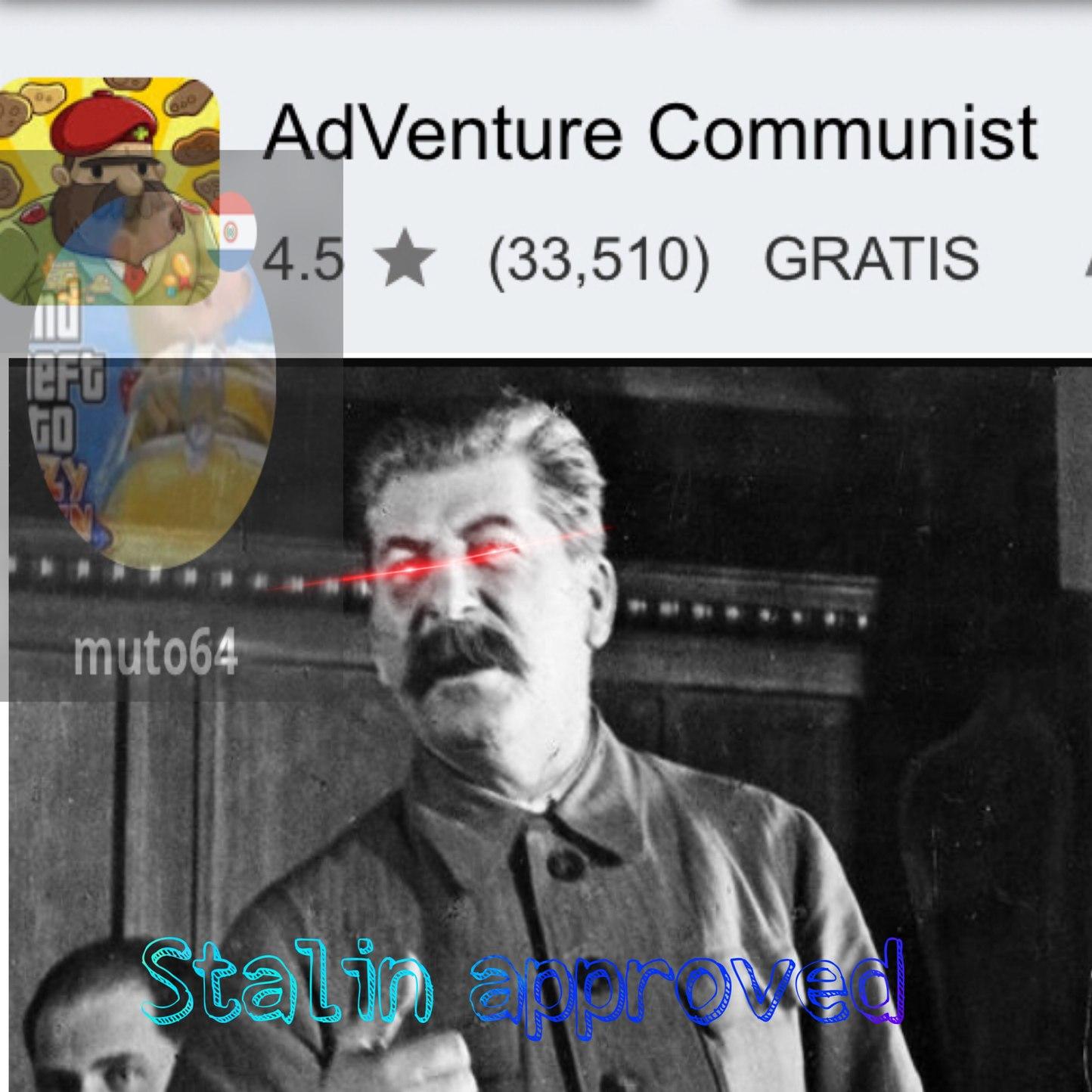 Stalin approved - meme