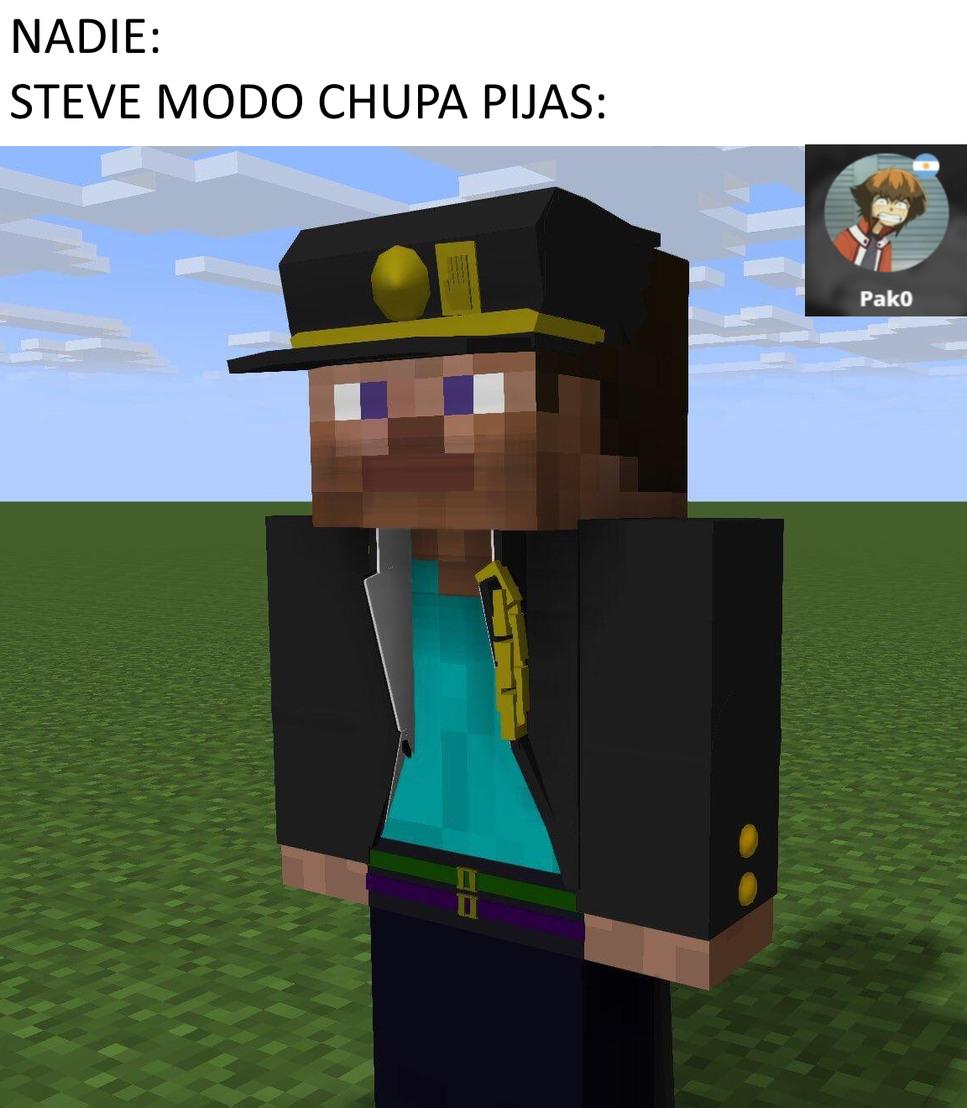 NO STEVE ESO NO ES DE CRACKS - meme