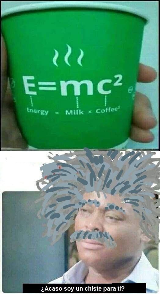 Teoria de la cafeineidad - meme