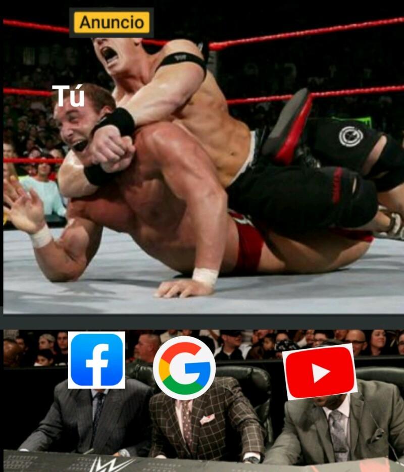 Lucha wwe - meme