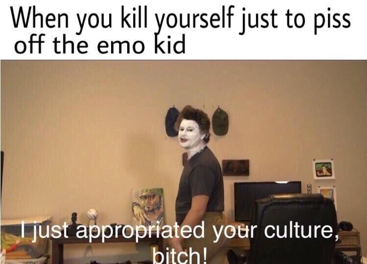 GoCryEmoKid - meme