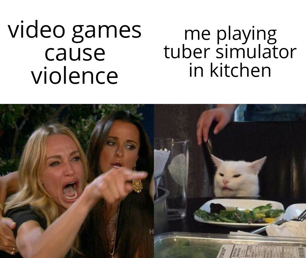 What? Haven't u played tuber simulator before? - meme