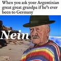 dongs in an argentinian