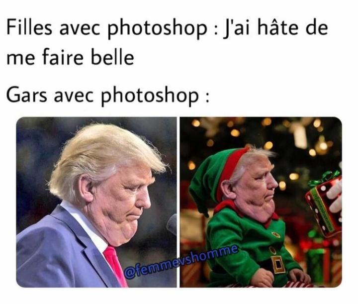Bientôt les elfes du père Noël seront au chômage - meme