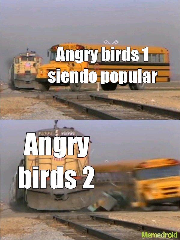 En memoria angry birds 1  - meme