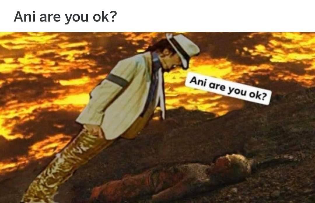 MJ high ground - meme