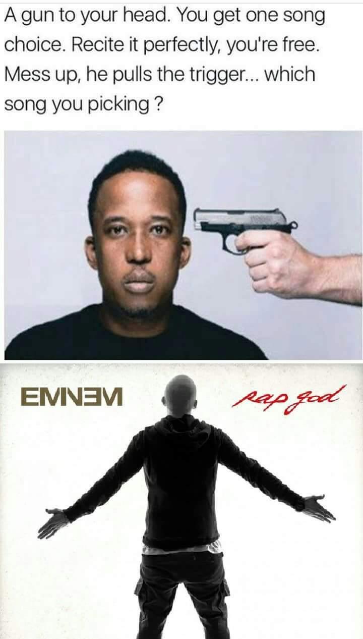 Pull the trigger - meme