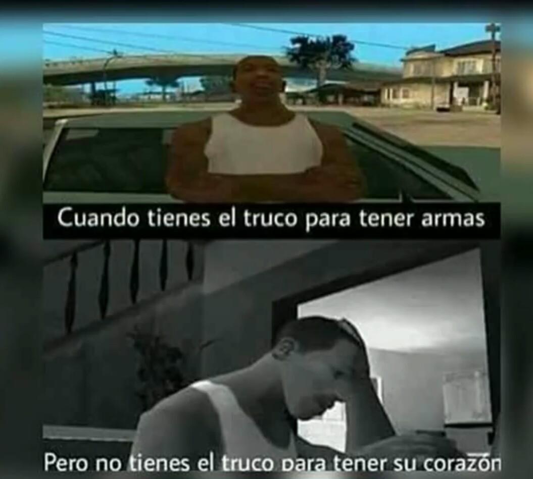 GTA : SA is love - meme