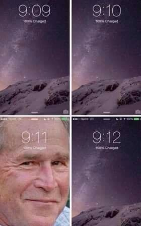 *insert Bush did 9/11 joke* - meme