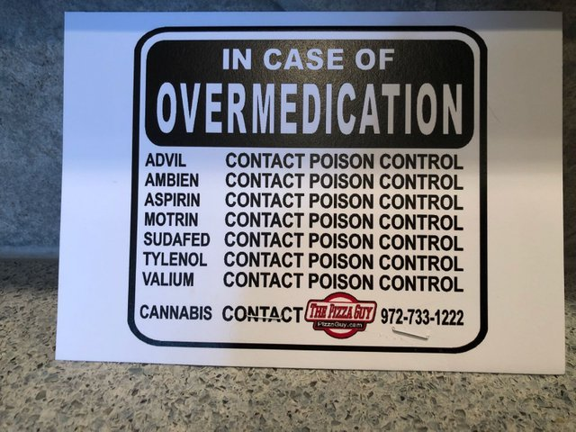 In case of overmedication - meme