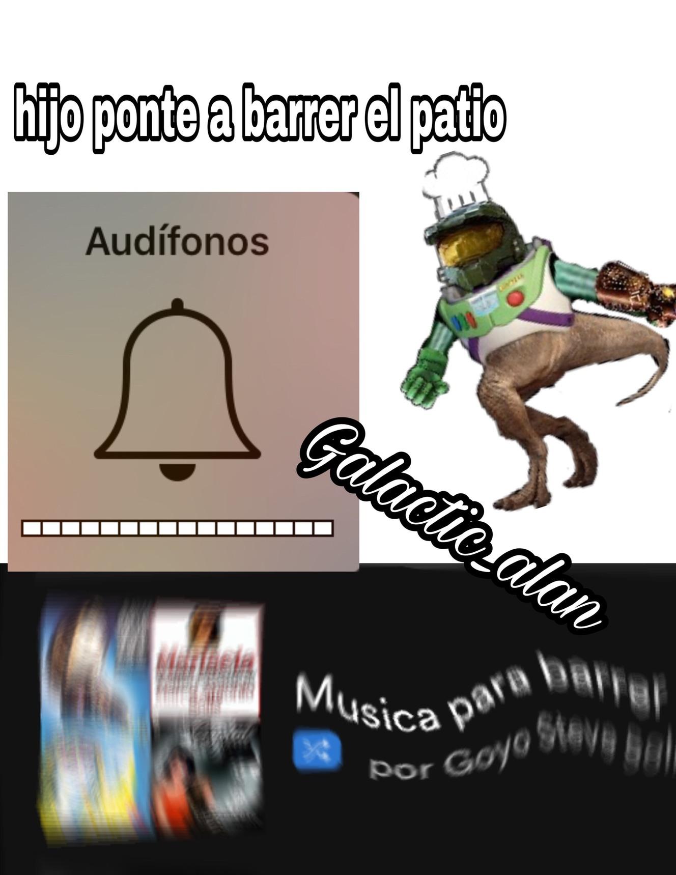 música para barrer - meme