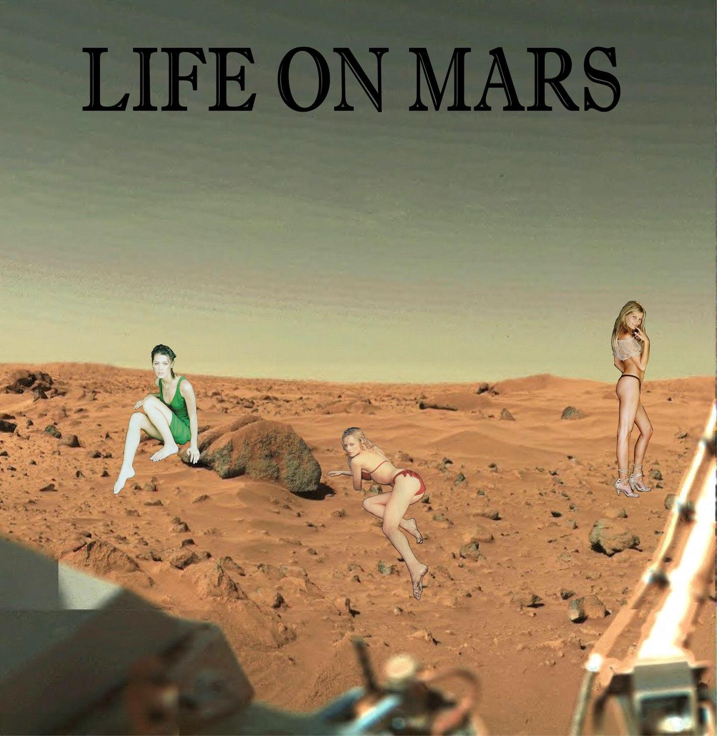 LIFE ON MARS - meme
