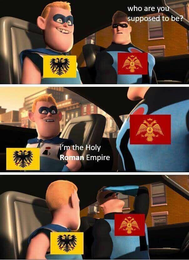 Sacro Imperio - meme