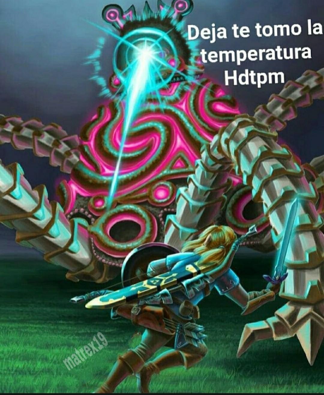 Legend of Zelda botw, el artefacto antiguo... - meme